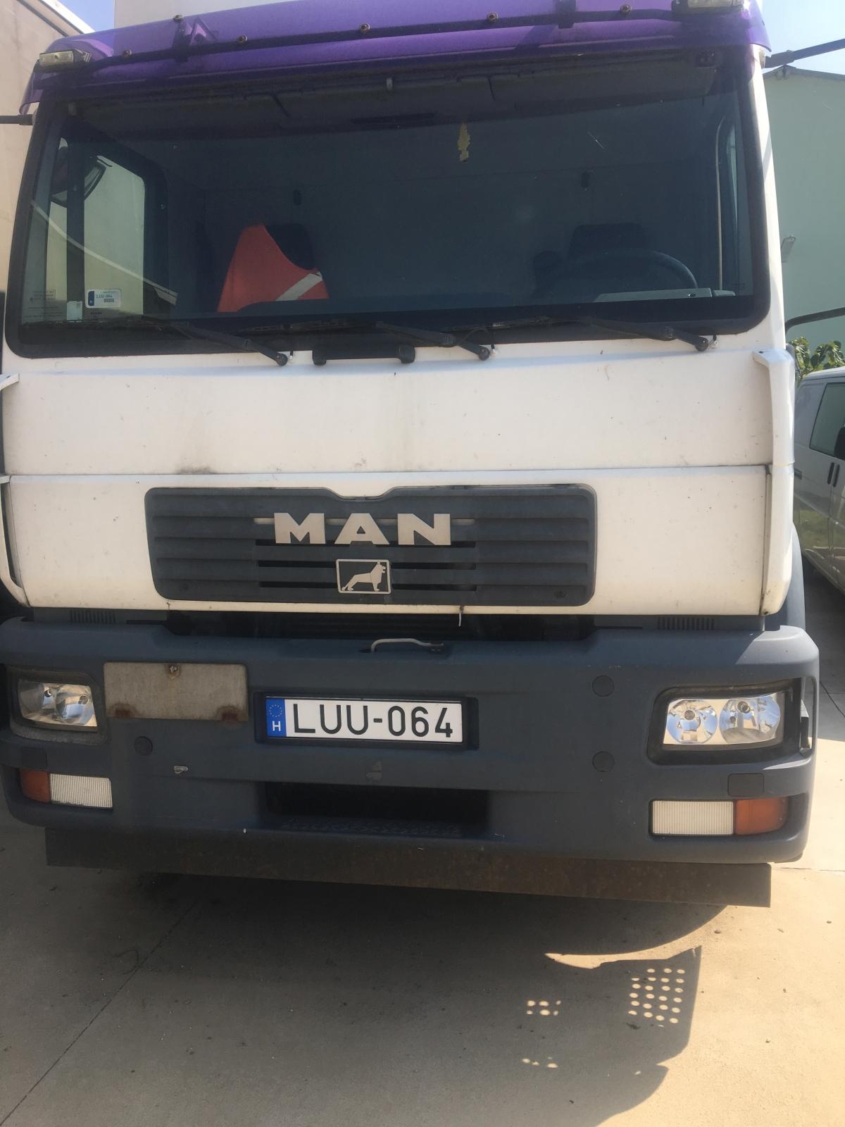 MAN teherautó