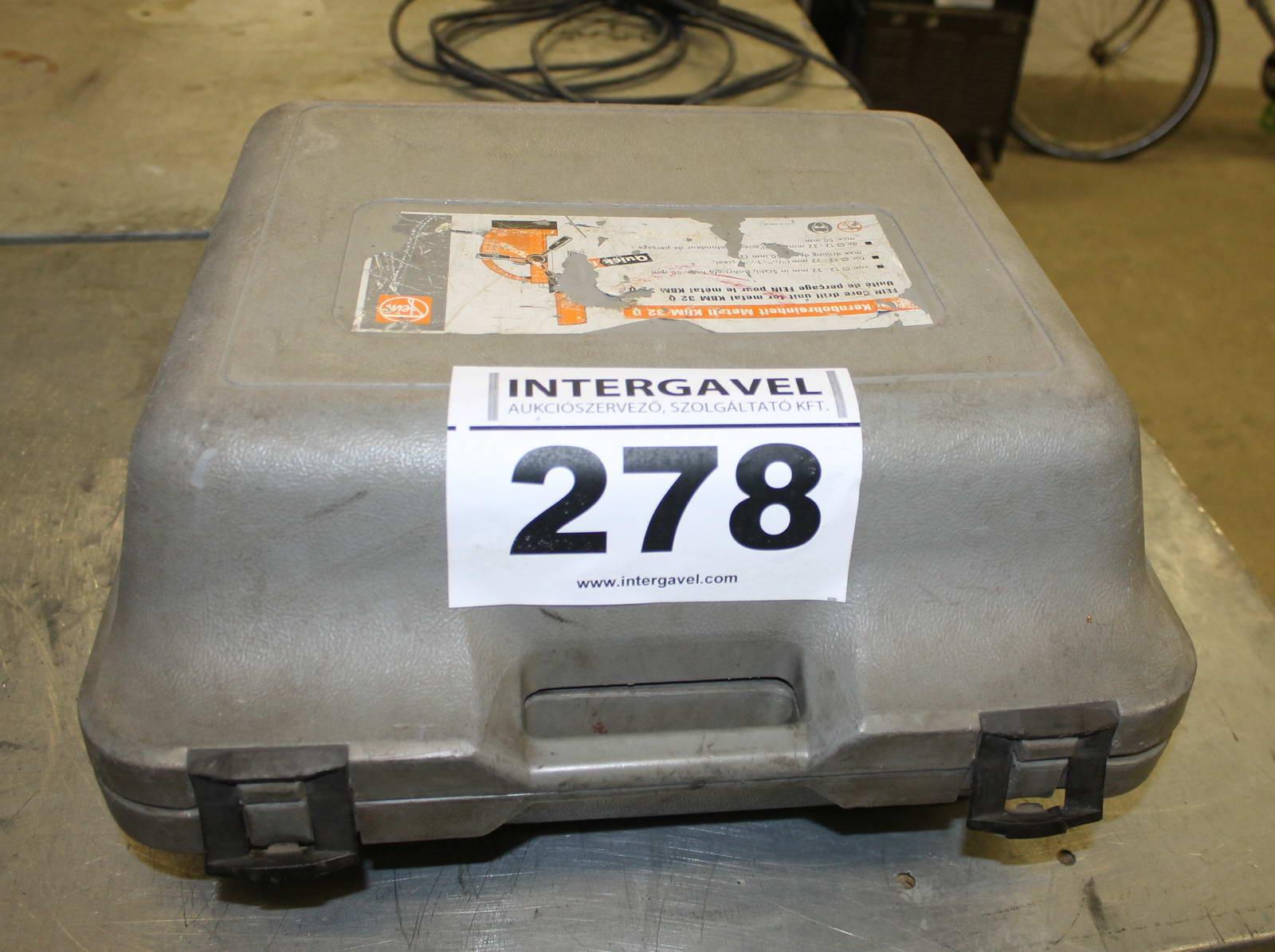 Mágnesállványos fúrógép