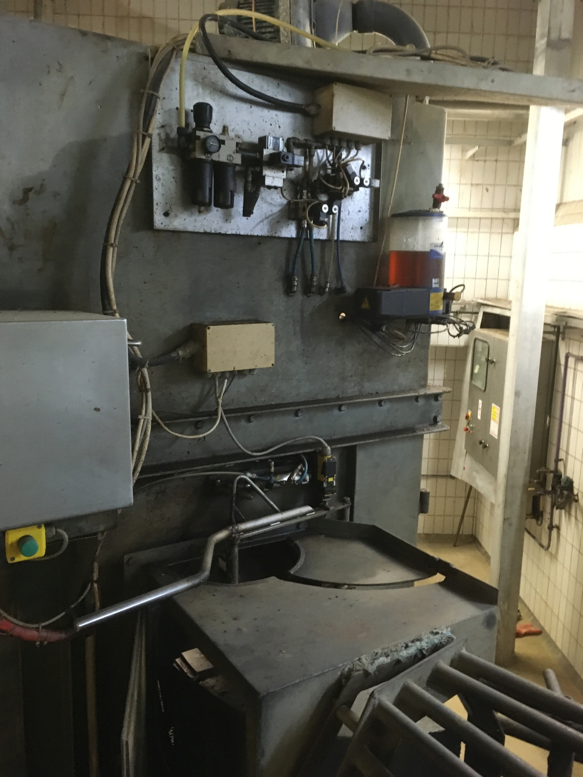 Complete pig cutting technology line