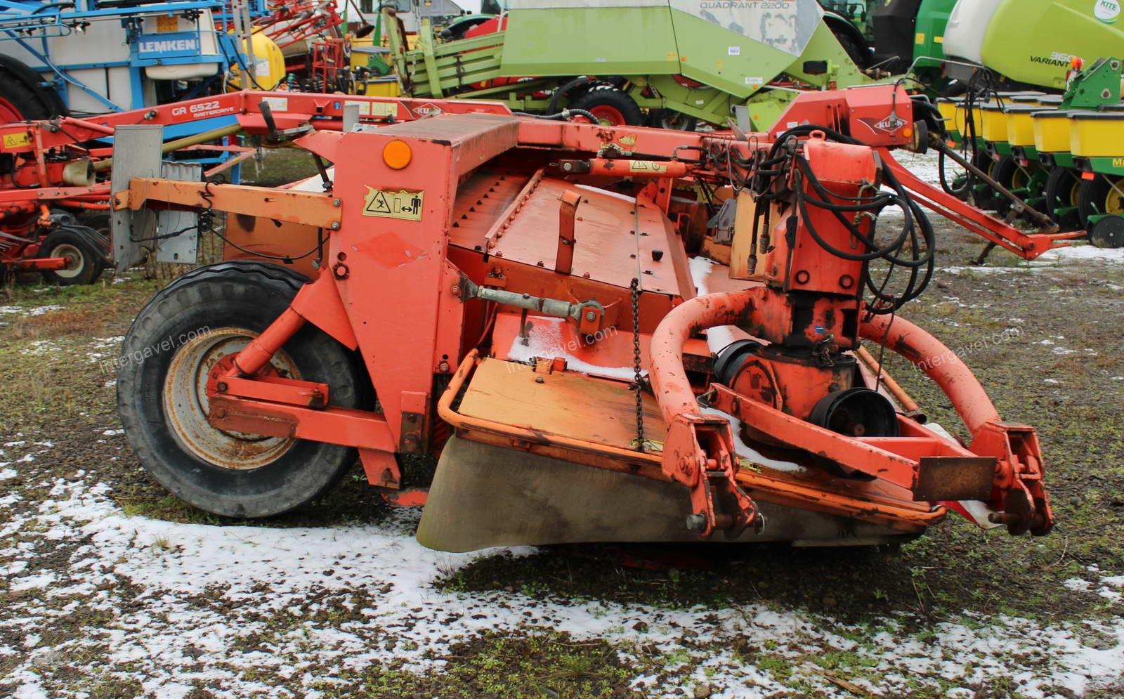 Trailed mower