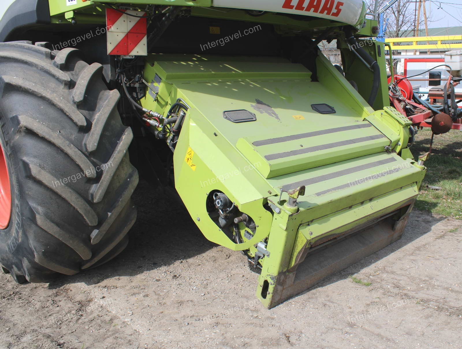 Combine harvester - Claas, Lexion 670