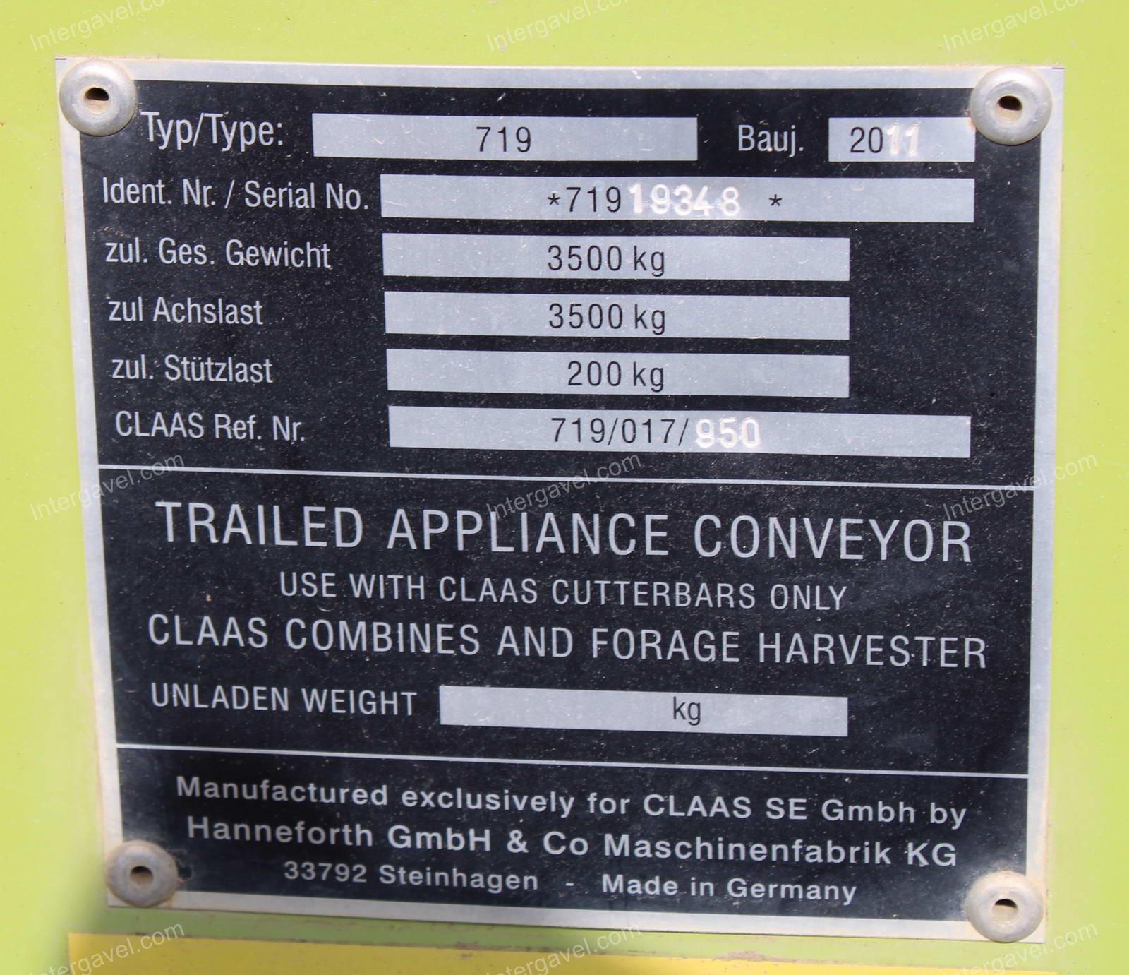 Combine harvester - Claas, Lexion 670