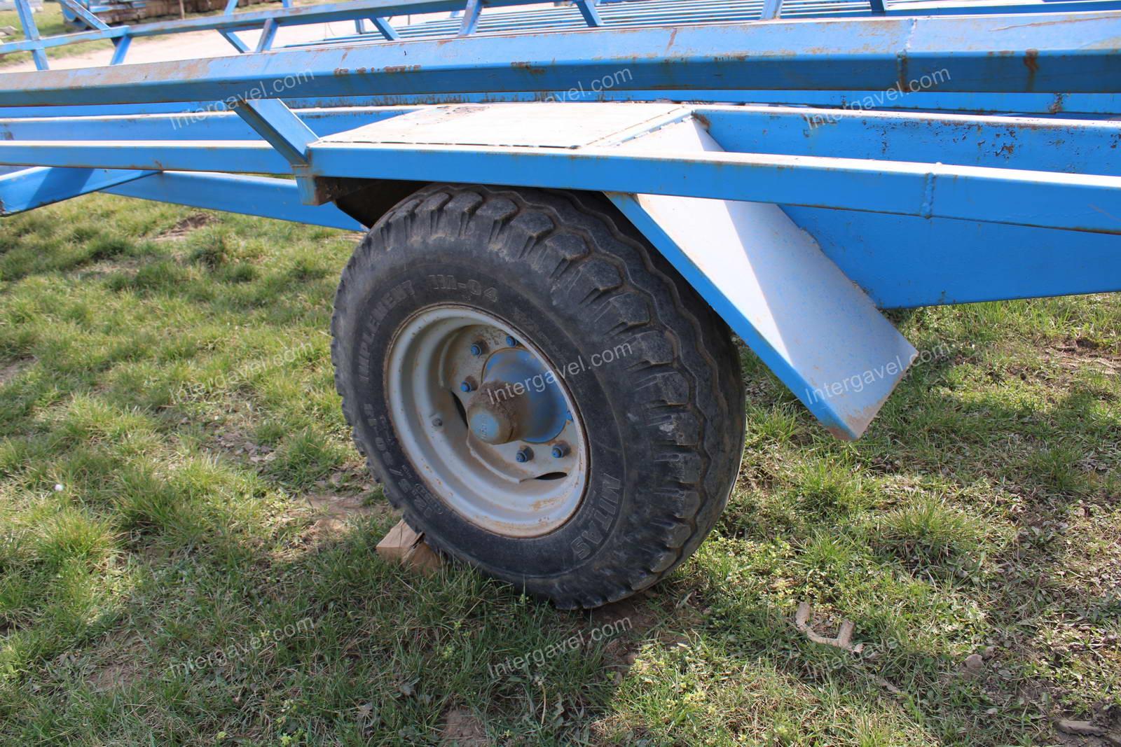 Bale trailer- Hódgép, BSZP-10