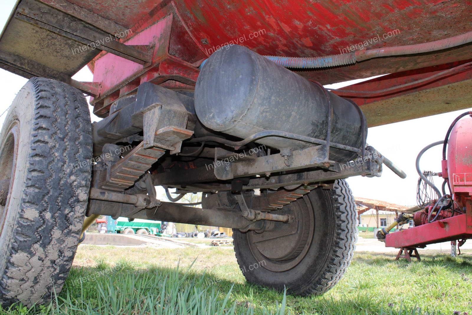 Tanker - Field truck, Detk-205