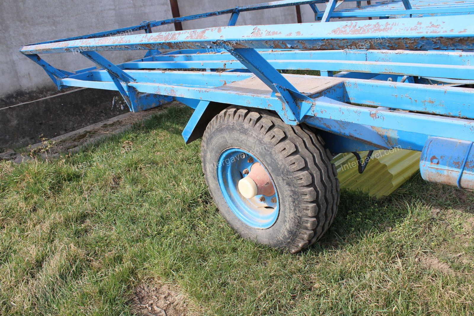 Bale trailer - Hódgép, BSZP-10