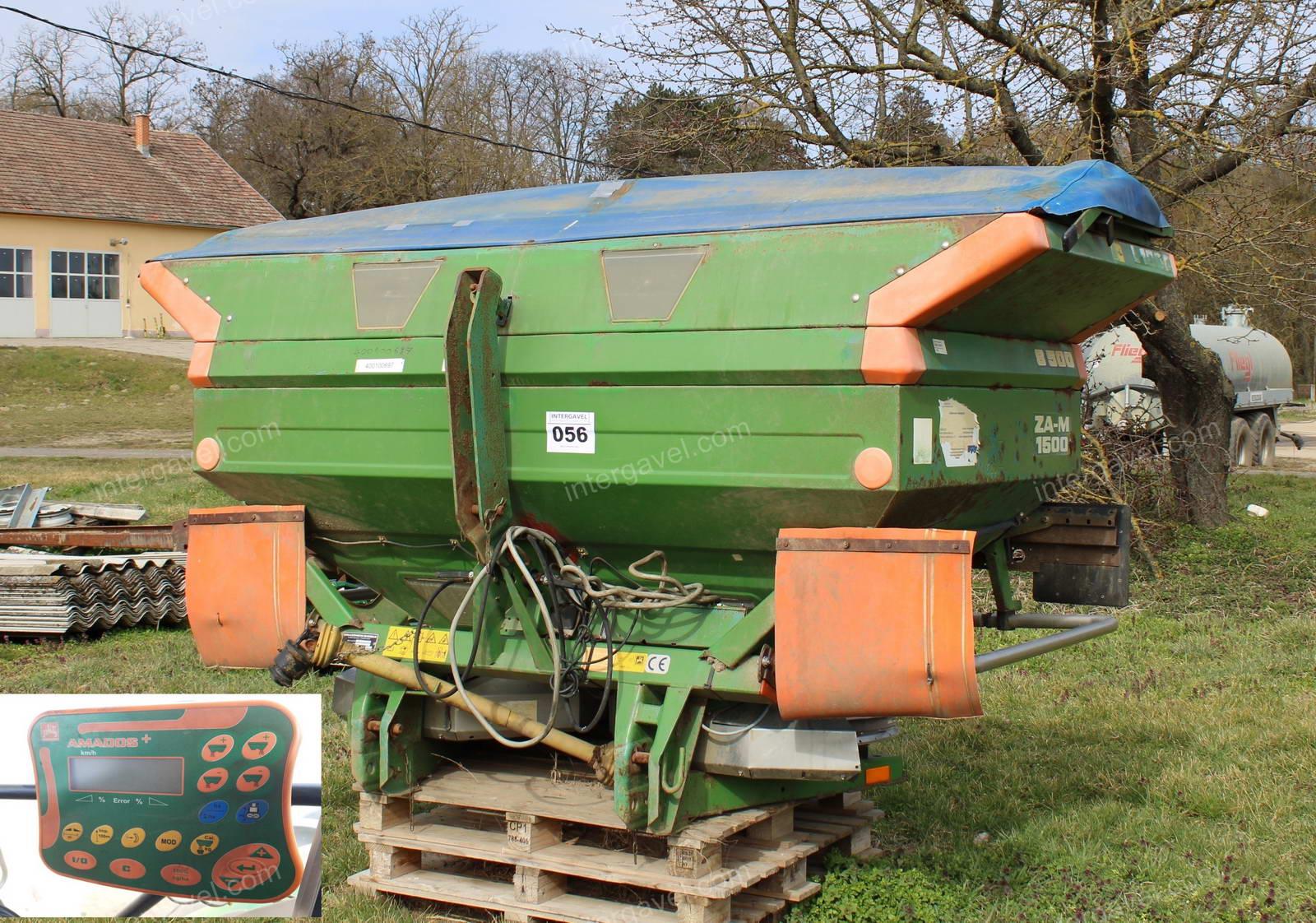 Fertilizer spreader - Amazone-Werke, ZA-M 1500