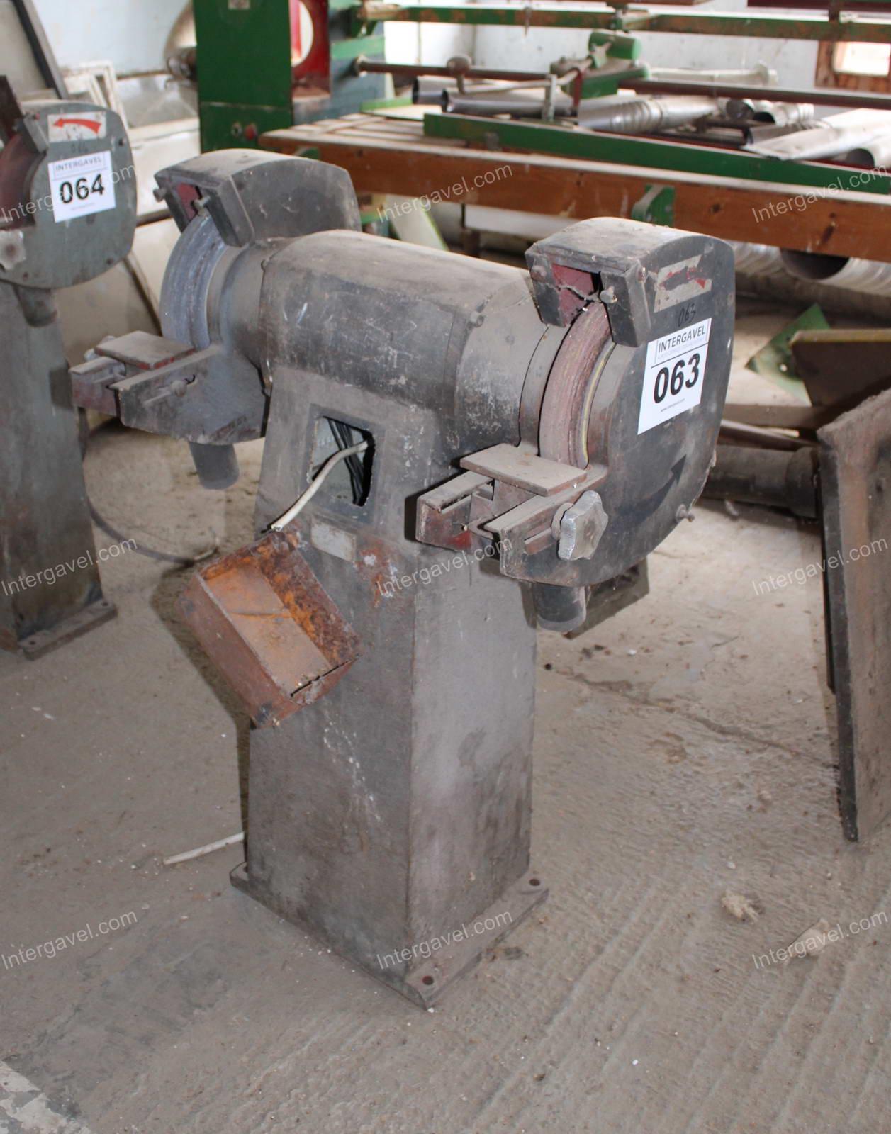 Two-disc grinder