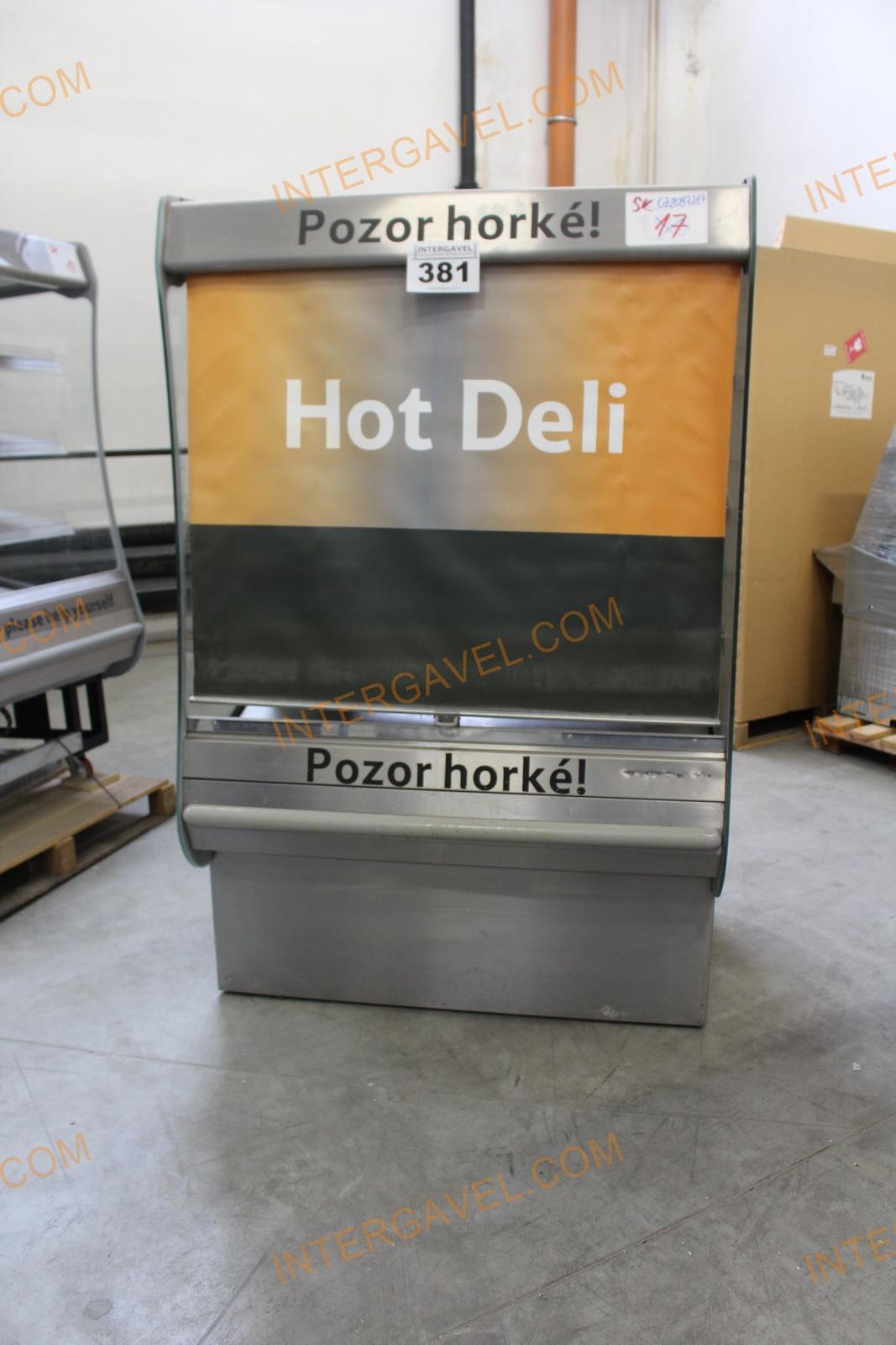 Warming display case